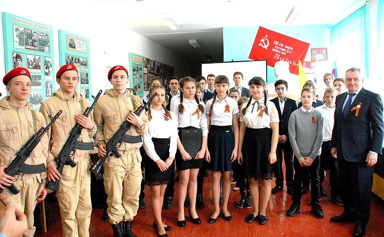 Владимир Бекетов принял участие встартовавшем наКубани ежегодном месячнике пооборонно-массовой ивоенно-патриотической работе