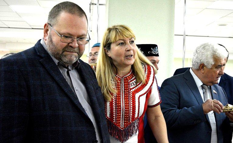 Олег Мельниченко принял участие воВтором областном фестивале мордовской культуры «Вастома»
