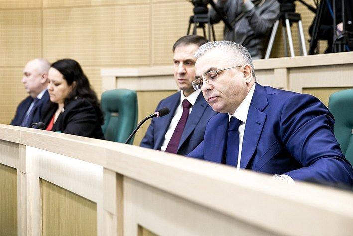 366-е заседание Совета Федерации Пичугов