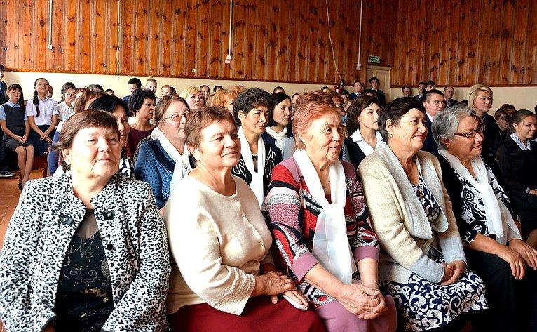 Лилия Гумерова встретилась спедагогическим активом Учалинского района Республики Башкортостан