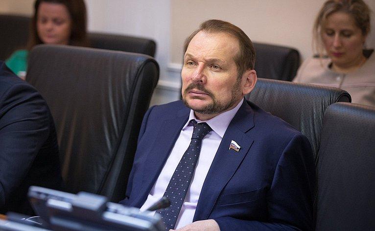 С. Белоусов Расширенное заседание Комитета СФ поаграрно-продовольственной политике иприродопользованию