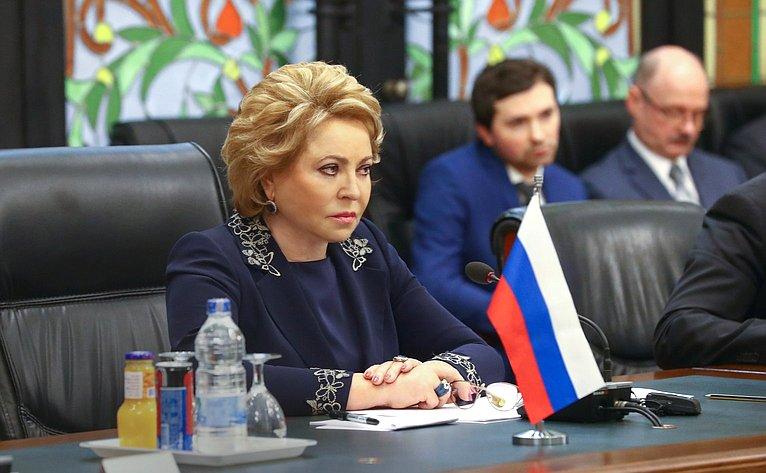 Председатель Совета Федерации ВалентинаМатвиенко