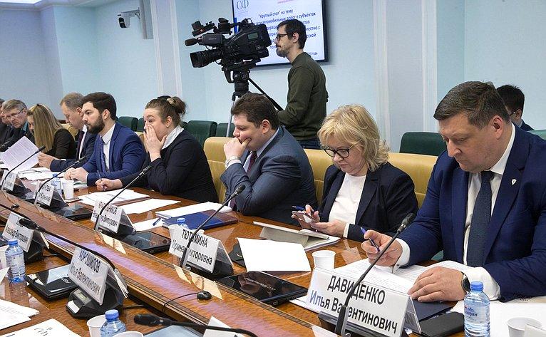«Круглый стол» натему «Развитие сети автомобильных дорог всубъектах РФ, входящих всостав Дальневосточного федерального округа»