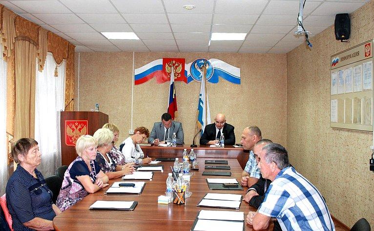 Татьяна Гигель приняла участие вработе сессии районного Совета депутатов муниципального образования «Чойский район»