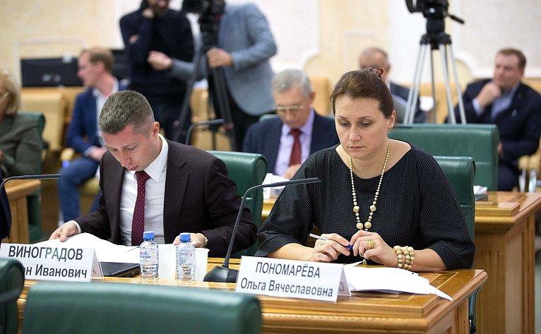 Заседание Совета повопросам развития Дальнего Востока иБайкальского региона при СФ
