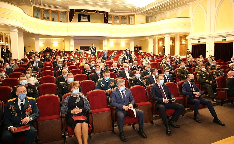 Татьяна Гигель приняла участие вторжественном мероприятии, посвященном празднованию Дня защитника Отечества