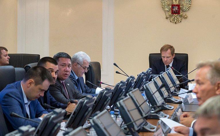 ВСФ прошло заседание Комитета порегламенту иорганизации парламентской деятельности