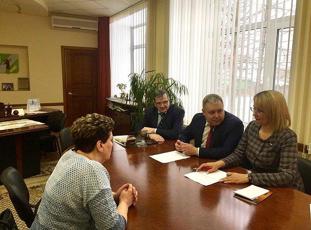 Наталия Косихина провела прием граждан вГаврилов-Ямском муниципальном районе Ярославской области