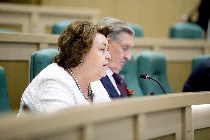 373-е Заседание Совета Федерации Драгункина
