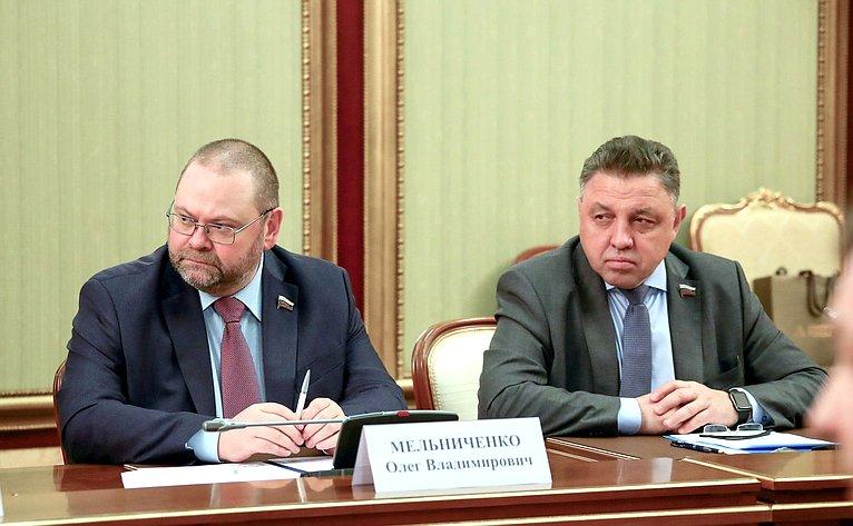 Олег Мельниченко иВячеслав Тимченко