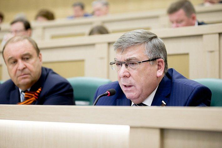 373-е Заседание Совета Федерации Рязанский