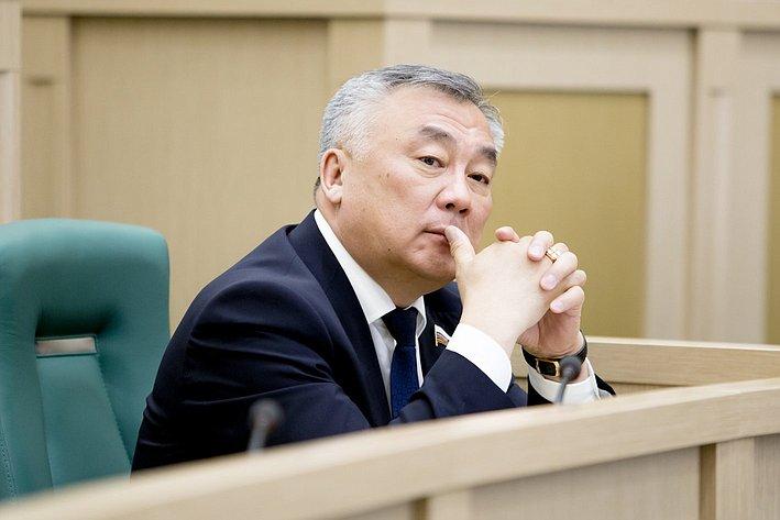 367-е заседание Совета Федерации Жамсуев