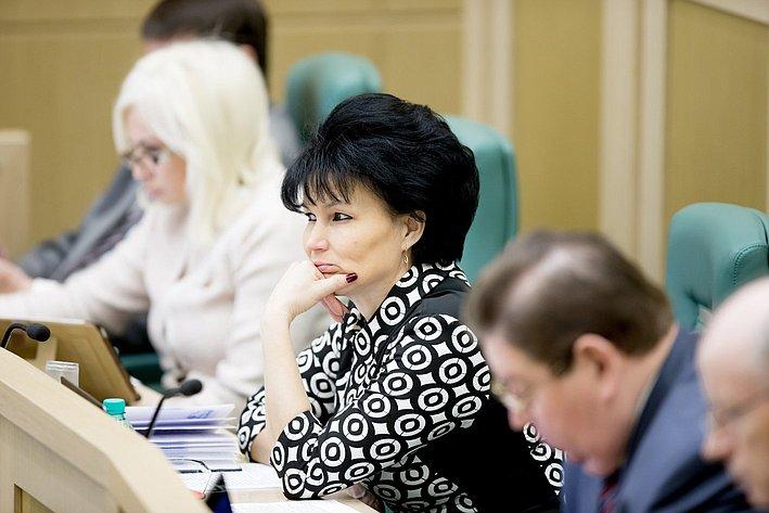 367-е заседание Совета Федерации Солнцева