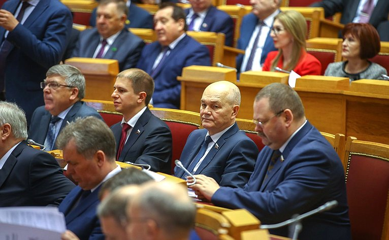 Заседание Совета законодателей при Федеральном Собрании России