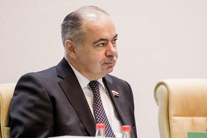 367-е заседание Совета Федерации Умаханов