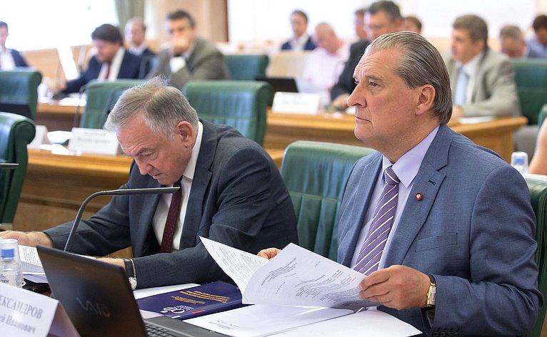 Ю. Бирюков иА. Александров