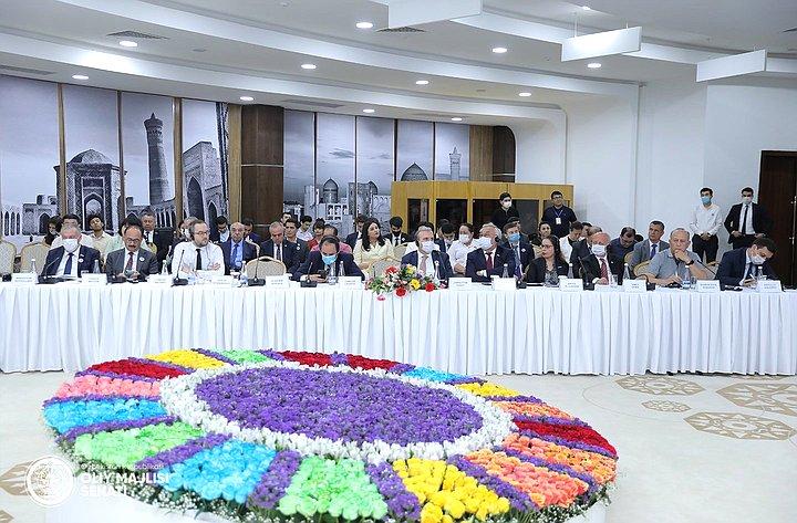 Баир Жамсуев вБухаре принял участие вМеждународном форуме глобального парламентского сотрудничества вдостижении Целей устойчивого развития
