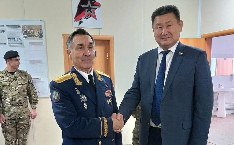 Александр Барсуков иВячеслав Мархаев