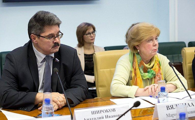 А. Широков иМ. Вялимаа