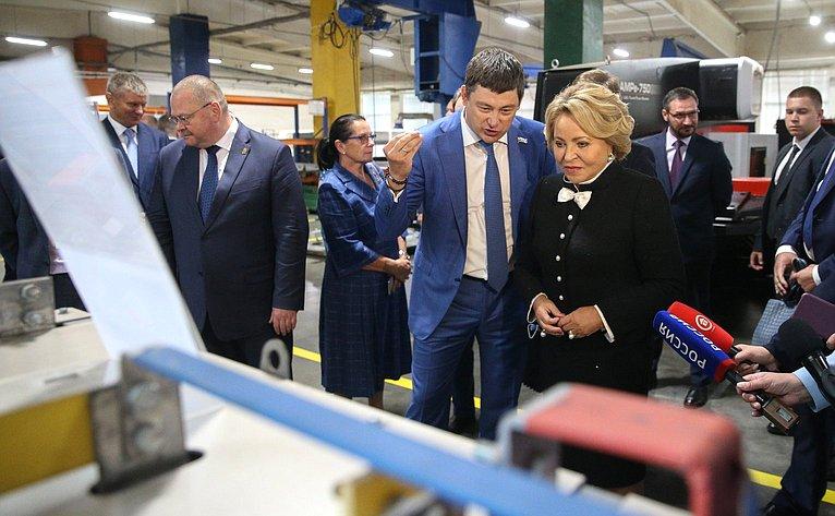 Валентина Матвиенко посетила Пензенский арматурный завод