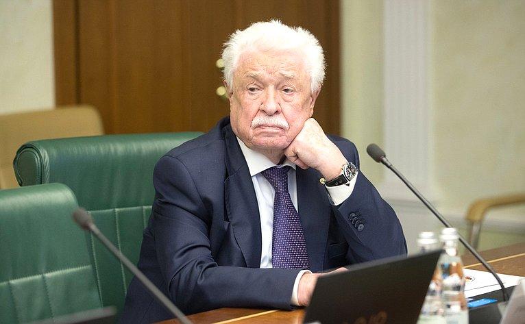 Заседание Интеграционного клуба при Председателе Совета Федерации натему «Процессы вмиграционной сфере иперспективы евразийской интеграции: опыт регионов»