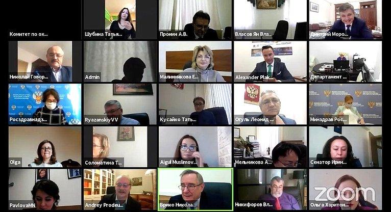 Татьяна Кусайко выступила назаседании «круглого стола» повопросам иммунопрофилактики