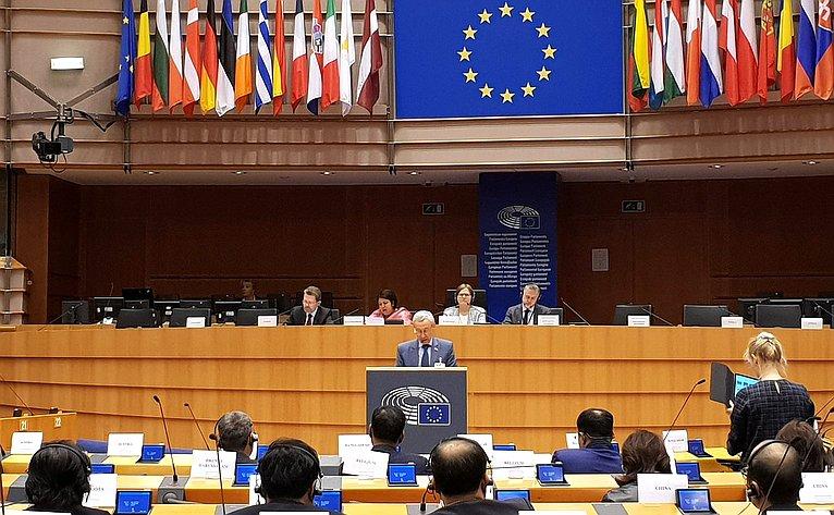 Андрей Климов выступил на10-й конференции Форума «Азия-Европа» попарламентскому партнерству