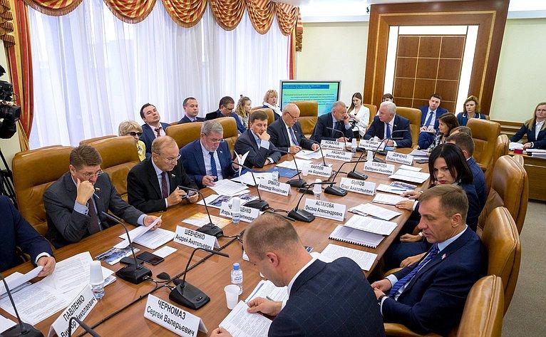 Расширенное заседание Комитета СФ пофедеративному устройству, региональной политике, местному самоуправлению иделам Севера сучастием представителей органов власти Калининградской области