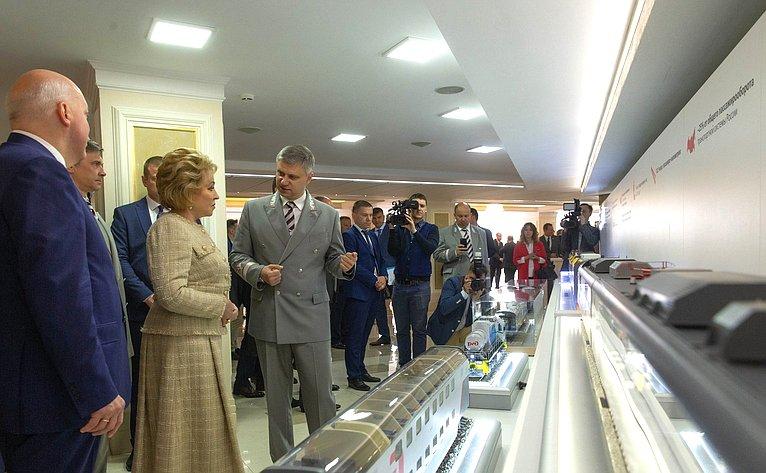 Открытие выставки РЖД вСовете Федерации