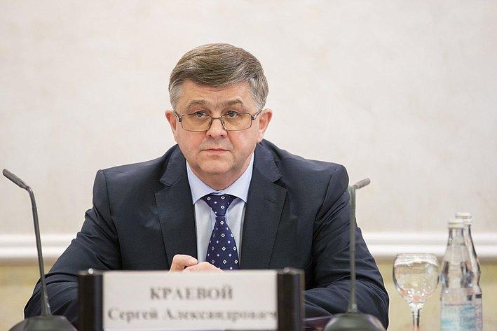 С. Краевой на заседании Научно-экспертного совета при Председателе СФ