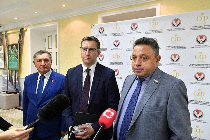 Владимир Невоструев, Ярослав Семенов иВячеслав Тимченко