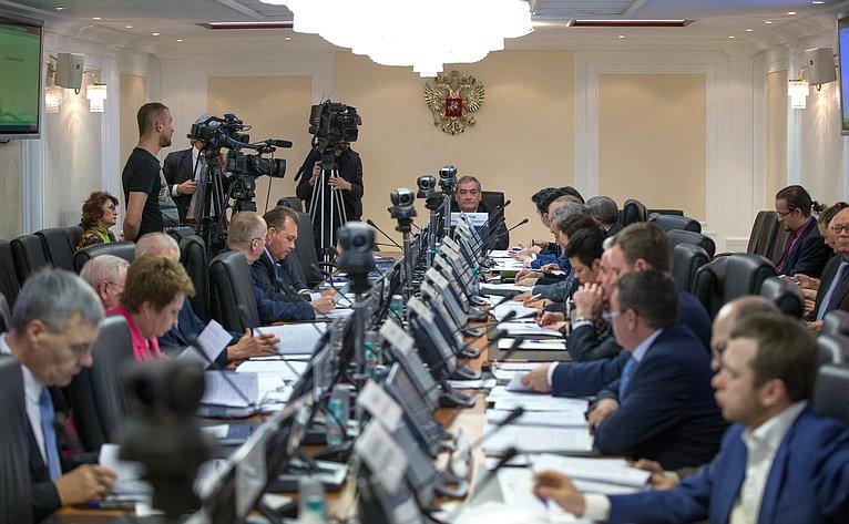 Заседание Президиума Совета поАрктике иАнтарктике