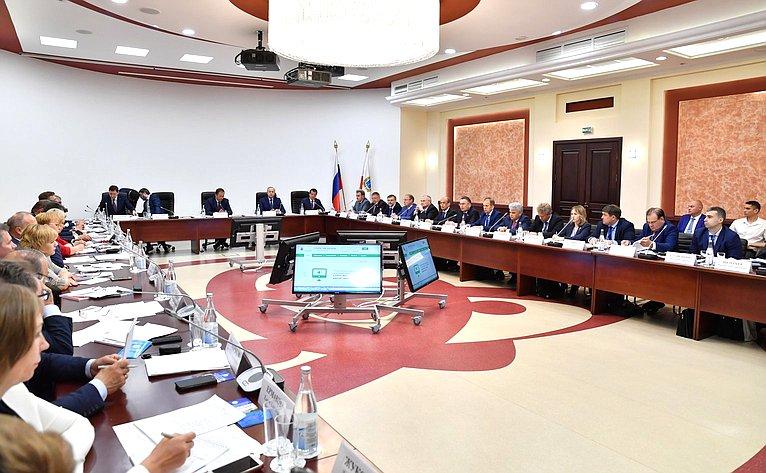 Заседание Окружного консультативного совета поразвитию местного самоуправления вПриволжском федеральном округе