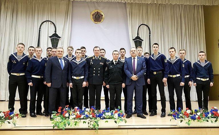 Александр Ракитин встретился сучащимися морских классов