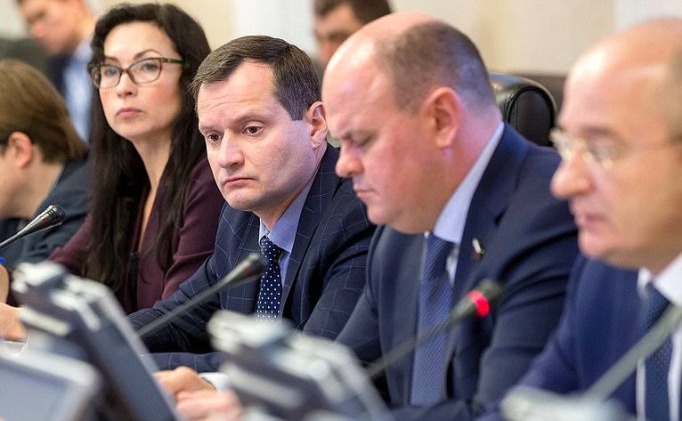 Заседание межкомитетской временной рабочей группы помониторингу мер Правительства РФ пообеспечению безопасного обращения сотходами производства ипотребления
