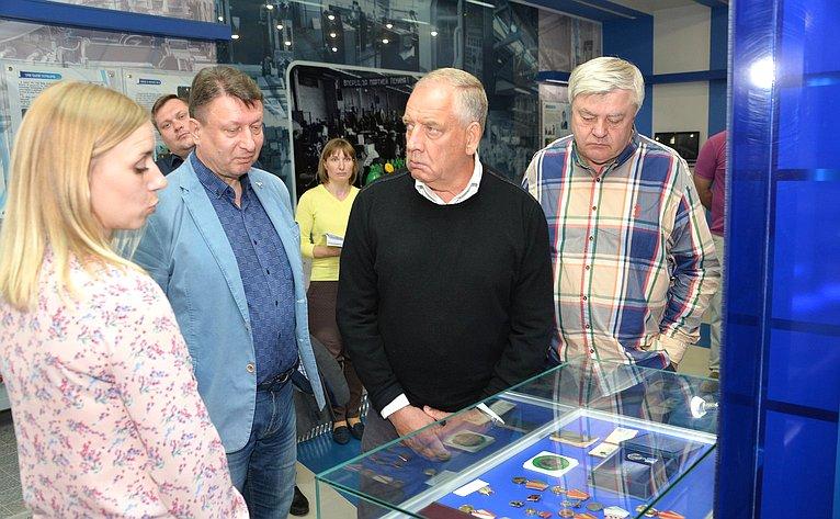 С. Митин посетил Арзамасский приборостроительный завод