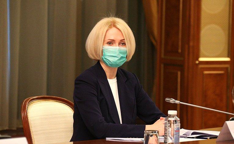 Встреча руководства Совета Федерации сПредседателем Правительства Российской Федерации Михаилом Мишустиным