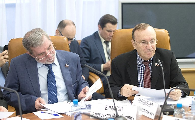 А. Ермаков иИ. Чернышенко
