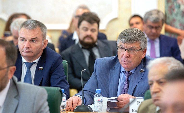 И. Каграманян иВ. Рязанский
