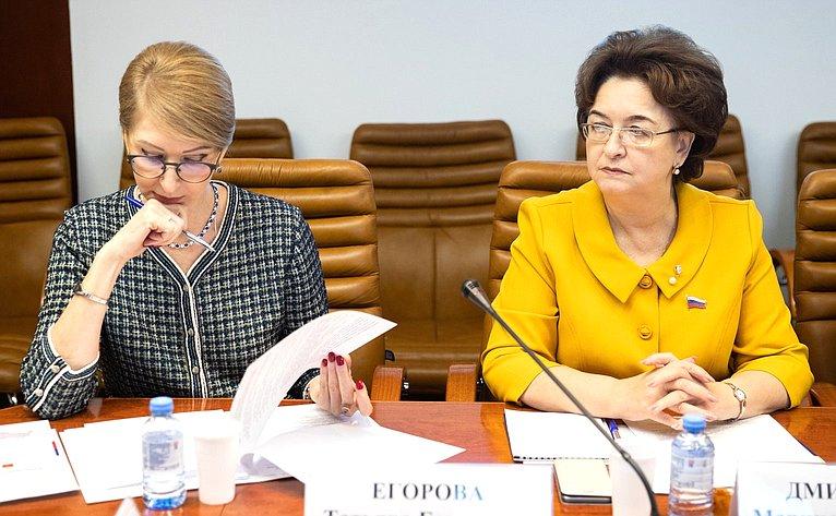 Заседание Комиссии Совета законодателей повопросам социальной политики