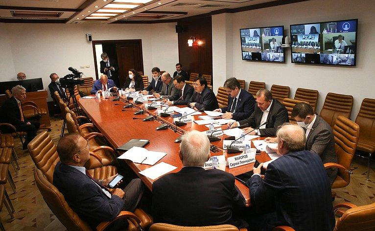 Заседание Совета поАрктике иАнтарктике при СФ