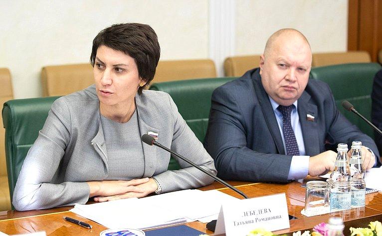 Татьяна Лебедева иИгорь Панченко