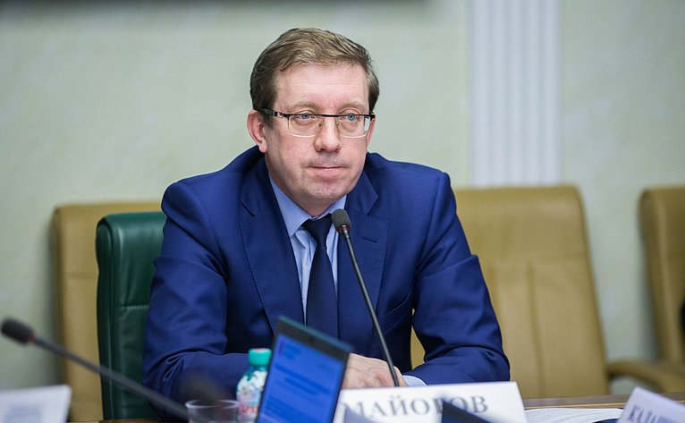 А. Майоров нарасширенном заседании Комитета Совета Федерации поэкономической политике