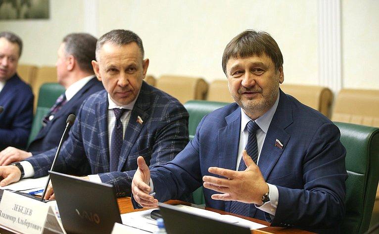 Олег Алексеев иВладимир Лебедев