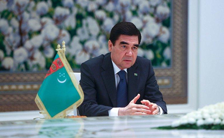Президент Туркменистана К.Бердымухамедов