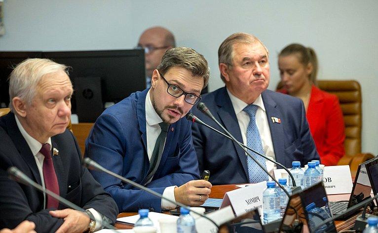 Расширенное заседание Комитета СФ пообороне ибезопасности иКомитета СФ поэкономической политике