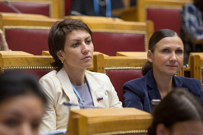 Евразийский женский форум. Лебедева