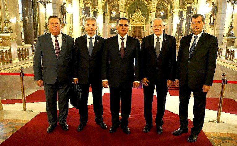 Рабочий визит делегации Совета Федерации воглаве сН.Федоровым вВенгрию