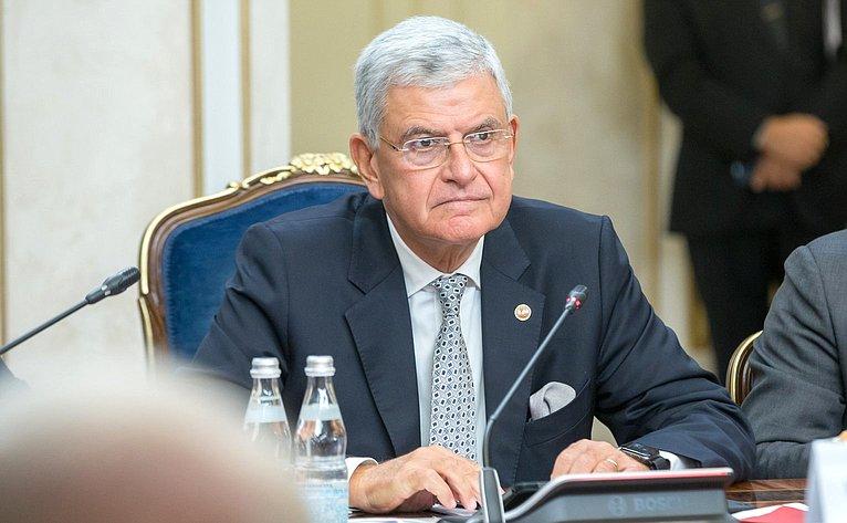 Совместное заседание Комитета СФ помеждународным делам иКомиссии помеждународным делам Великого Национального Собрания Турции