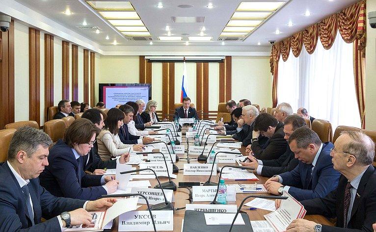 Заседание Комитета пофедеративному устройству, региональной политике, местному самоуправлению иделам Севера